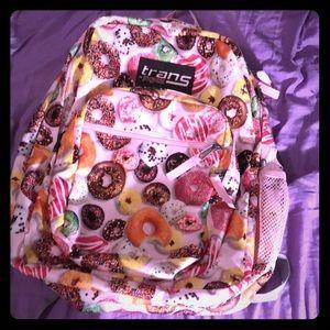 Trans Jansport Donut Backpack 🍩